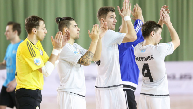 Сборная Казахстана по футзалу объявила состав на матч с Россией на Евро