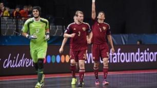 Перед матчем с Казахстаном попросил Лео не пинать сильно мяч по нашим воротам - Густаво