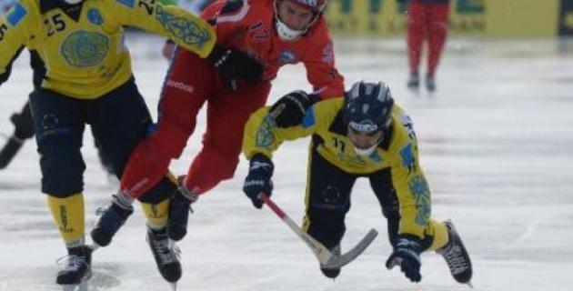 Сборная Казахстана сыграет со Швецией в матче за третье место ЧМ по бенди