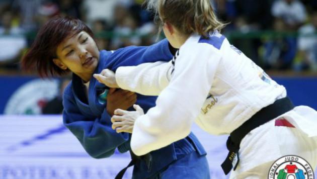 Казахстанская дзюдоистка Отгонцэгцэг стала победительницей Гранд Слэма в Париже