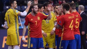 Испания с первого места вышла из группы на чемпионате Европы по футзалу