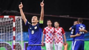 Итальянцы вышли неподготовленными, а мы вовремя забивали наши голы - капитан сборной Казахстана по футзалу