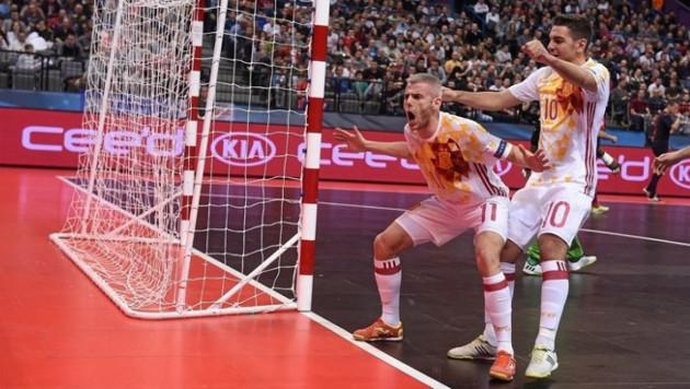 Сборная Казахстана по футзалу еще никогда не забивала Испании