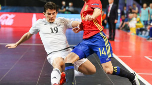 Видео голов матча Казахстан - Испания в полуфинале Евро
