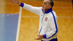 Казахстан был лучшим сегодня! - тренер сборной Сербии