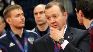 Испанцам повезло, что в полуфинале казахи играли без своего лидера Игиты - тренер сборной России