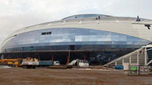 Назарбаев посетил Ледовую арену в Алматы
