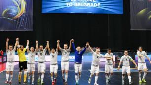 Казахстан объявил расширенный состав на матчи с Польшей за выход на ЧМ по футзалу