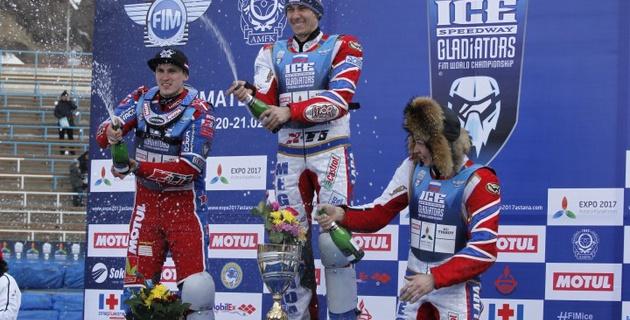 Даниил Иванов стал победителем второго дня этапа чемпионата мира по спидвею в Алматы
