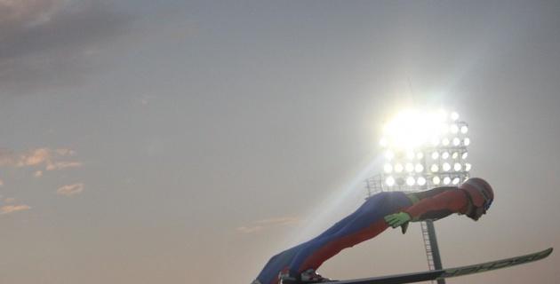 """""""Золотым"""" дублем Превца закончился в Алматы этап Кубка мира по прыжкам с трамплина"""