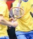 Сборная Казахстана вышла вперед в матче Кубка Дэвиса с Сербией