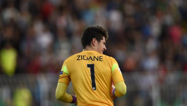 Сын Зинедина Зидана пропустил гол с 40 метров