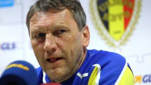 Бывший тренер сборной Казахстана Беранек посетил Суперкубок Казахстана