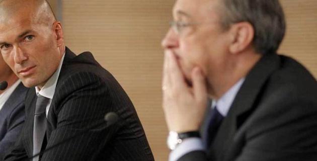 Перес и Зидан разошлись во мнениях при определении состава на следующий сезон
