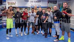 Боксеры Абеля Санчеса поздравили казахстанцев с праздником Наурыз