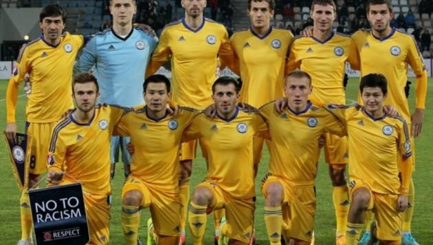Сборная Казахстана по футболу отправилась в Турцию