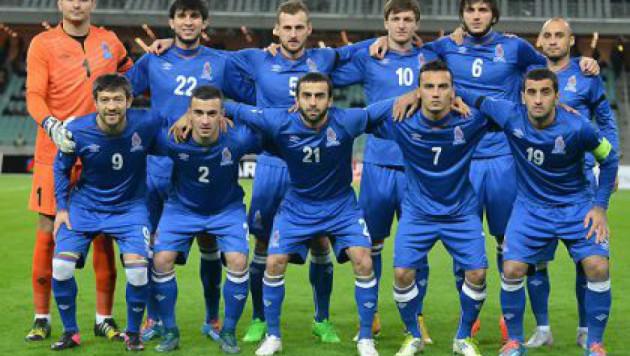 Тренер сборной Азербайджана определился со стартовым составом на игру с Казахстаном
