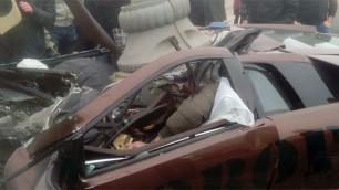 В Москве автослесарь разбился на Lamborghini бойца ММА