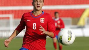 Самый дорогой футболист КПЛ провел второй матч за сборную Сербии