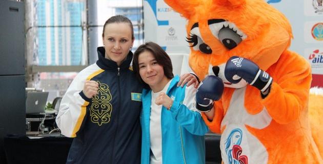 В Астане презентовали талисман и медали чемпионата мира по боксу