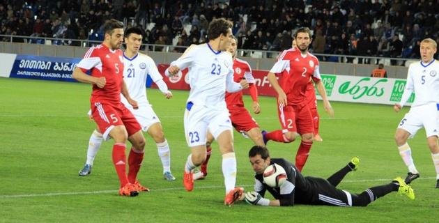 Определился победитель конкурса прогнозов на матч Грузия - Казахстан