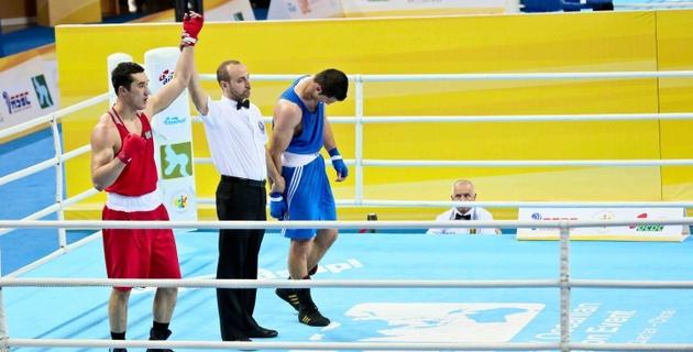 Ниязымбетов вышел в финал турнира по боксу в Китае и завоевал лицензию на Олимпиаду-2016