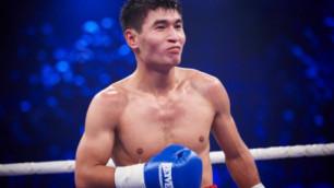 Назван соперник Бекмана Сойлыбаева на вечере бокса в Астане