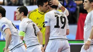 KazSport покажет в прямом эфире ответный матч отбора на ЧМ по футзалу Казахстан - Польша