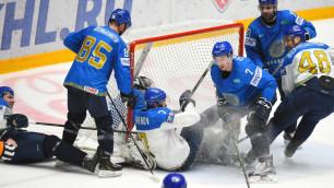 Сборная Казахстана по хоккею провела двусторонний матч без Бойда, Боченски и Доуса