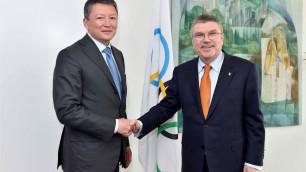 Тимур Кулибаев встретился с главой Международного олимпийского комитета