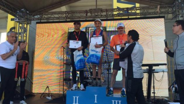Определились победители Алматы-марафона