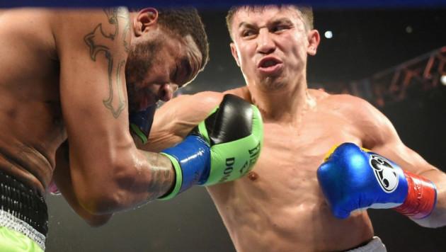 Ролик о подготовке и бое Головкина с Уэйдом от команды казахстанского боксера