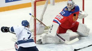 Сборная России перед ЧМ по хоккею заняла последнее место на Евротуре