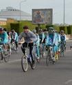 В Астане прошел велопробег ко Дню Победы