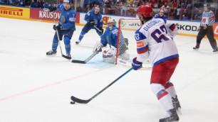 Могли взять больше очков после двух игр - Семенов о матче с Россией на ЧМ по хоккею