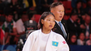 Казахстанка Галбадрах Отгонцэгцэг вышла в финал Гран-при по дзюдо в Алматы