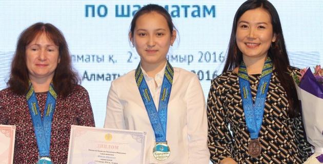 Жансая Абдумалик впервые в карьере стала чемпионкой Казахстана по шахматам
