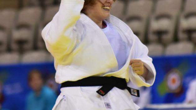 Казахстанка Амангельдиева проиграла в финале Гран-при по дзюдо в Алматы