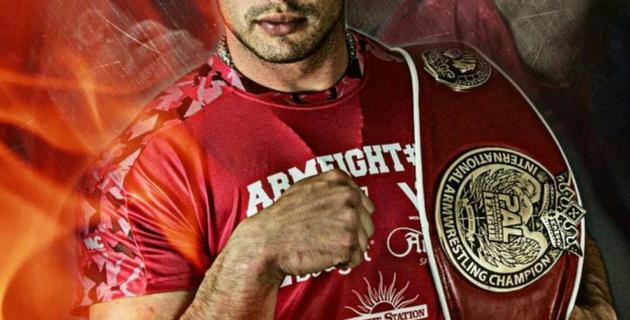Казахстанец Дмитрий Трубин выиграл чемпионат Азии по армрестлингу