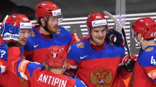 Сборная России догнала по очкам лидера группы А на ЧМ по хоккею