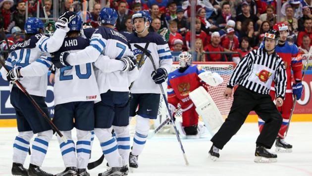 Сборная Финляндии обыграла Россию и вышла в финал ЧМ по хоккею