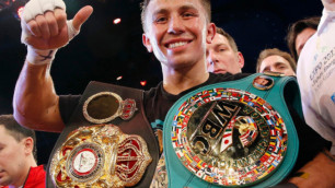 """После """"подарка от Альвареса"""" Головкин стал самым титулованным боксером мира"""