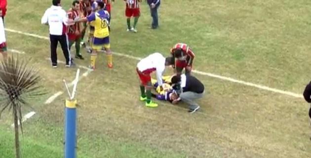 Аргентинский футболист умер от полученной во время матча травмы