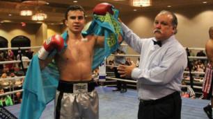 Казахстанец Радмир Ахмедиев одержал десятую победу на профи-ринге