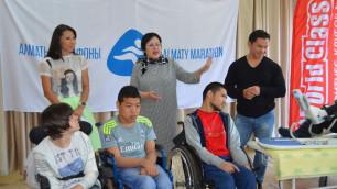 """""""Алматы Марафон"""" передал АРДИ реабилитационное оборудование"""