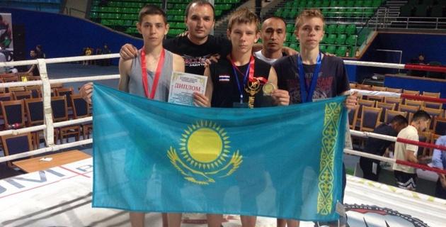 Казахстанцы завоевали 11 медалей на международном турнире по муай-тай