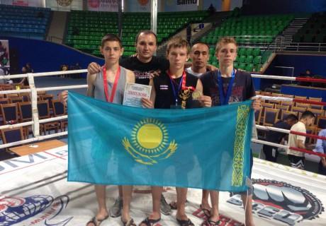 Фото Федерации муай-тай Казахстана