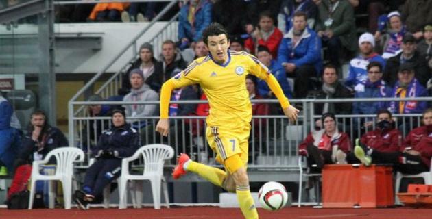 Улан Конысбаев получил страшный перелом ноги во время матча с Китаем