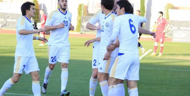 Беспроигрышная серия сборной Казахстана продлилась до четырех матчей