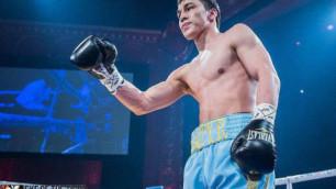 Казахстанский нокаутер Батыр Джукембаев вернется на ринг 7 июля